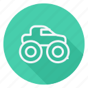 automation, car, monster truck, transport, transportation, truck, vehicle icon
