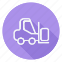 automation, car, forklift, transport, transportation, truck, vehicle icon