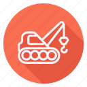 automation, car, crane, transport, transportation, trucking, vehicle icon