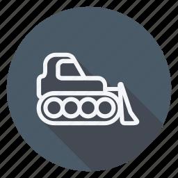 auto, automation, car, forklift, transport, transportation, vehicle icon