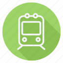 auto, automation, car, train, transport, transportation, vehicle icon