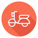 automation, car, motorbike, scooter, transport, transportation, vehicle icon