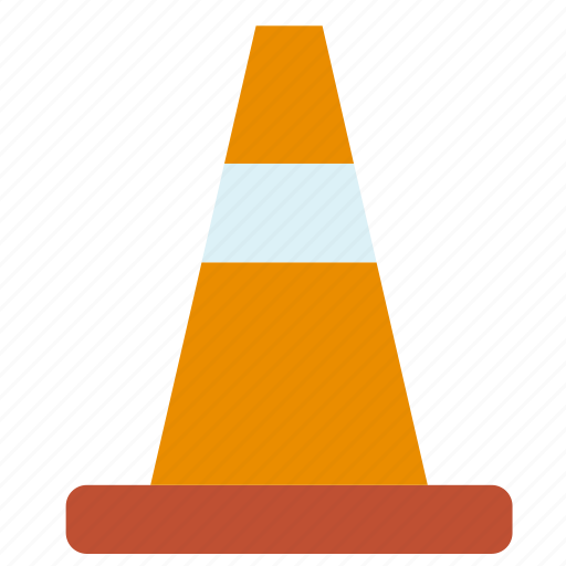 circulation, cone, sign, traffic, transport, travel icon