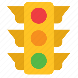 light, traffic, transport, travel icon