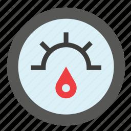 car, fuel, indicator, transport, vehicle icon