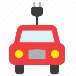 car, ecology, electric, environment, transport, vehicle icon
