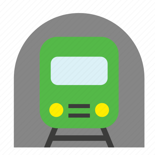 conveyance, metro, railway, train, transport, travel, underground icon