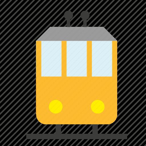 railway, streetcar, tram, transport, travel, trolley, vehicle icon