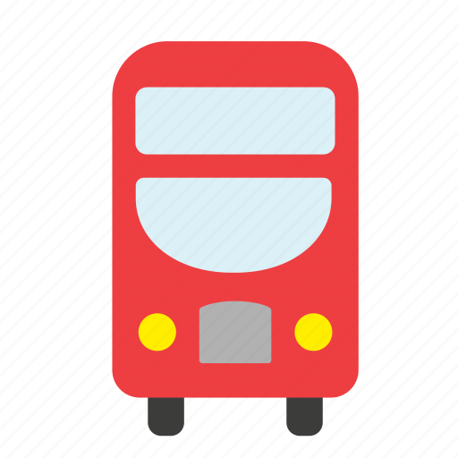 bus, london, red, routemaster, transport, vehicle icon