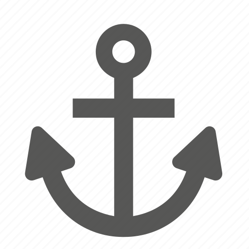 anchor, boat, ship, transport, travel icon