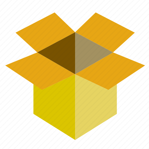 box, cardboard, move, transport icon