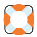 boat, life, preserver, ship, transport, travel, vest icon