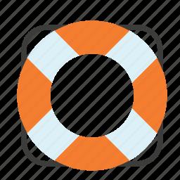 boat, life, preserver, ship, transport, travel, vest icon