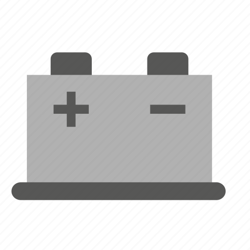 battery, car, conveyance, transport, vehicle icon