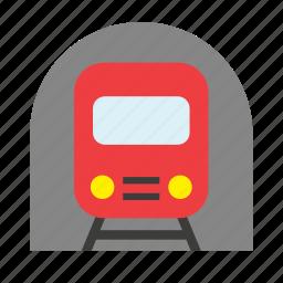 metro, railway, subway, train, transport, underground, vehicle icon