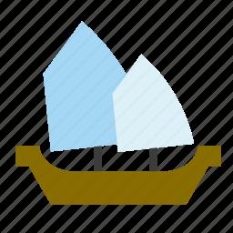 boat, pirate, sea, ship, transport, vessel icon