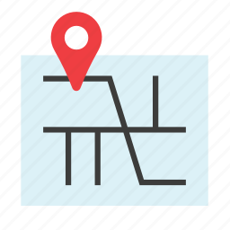 gps, locator, map, navigation, tourism, transport, travel icon