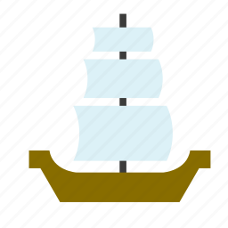 boat, conveyance, pirate, ship, transport, vehicle, vessel icon