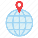 globe, locator, navigation, tourism, transport, travel, world icon