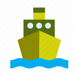 army, military, ship, transport icon