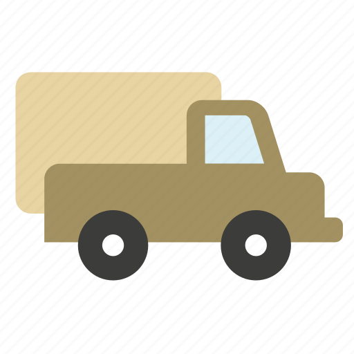 conveyance, transport, truck, vehicle icon