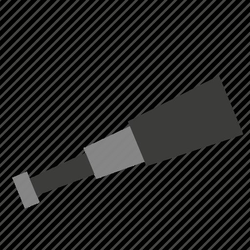 handheld, pirate, ship, spy glass, spyglass, telescope, transport icon