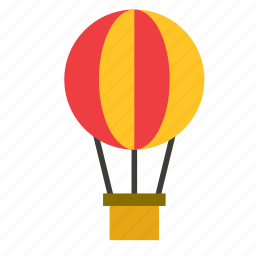 air, balloon, conveyance, hot, tourism, transport, travel icon