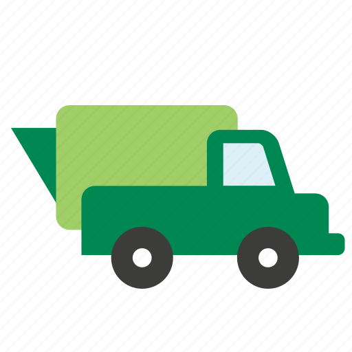 ecology, recycle, recycling, transport, trash, truck, vehicle icon