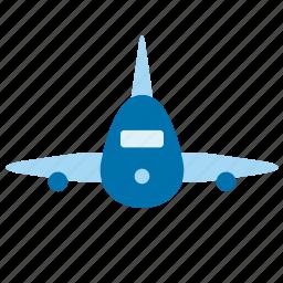 aeroplane, aircraft, airplane, airport, plane, transport, travel icon