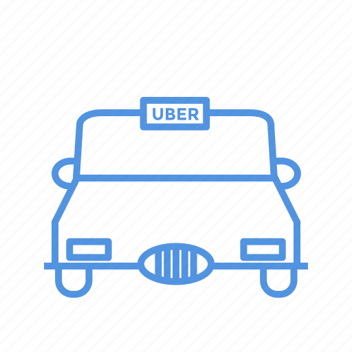 service, taxi, uber icon