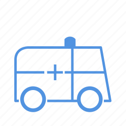 ambulance, hospital icon