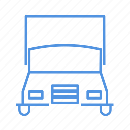 four wheels, transport, truck icon