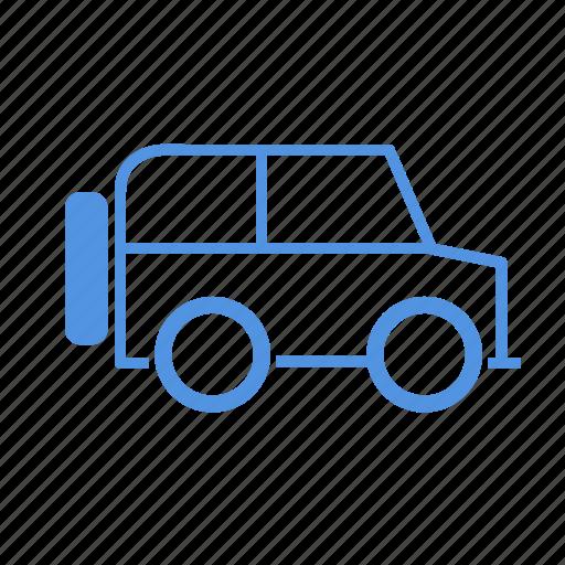 car, four wheels, suv icon