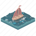 transportation, boat, ship, sailing, water, sea, ocean, travel