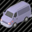 transportation, van, transport, vehicle, car, road, map