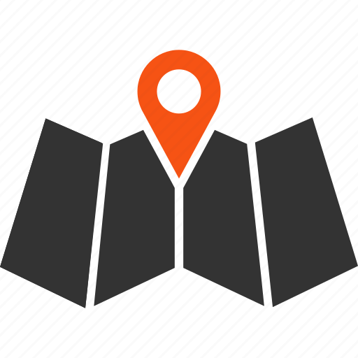 cartography, direction, gps, location, map, navigation, route icon