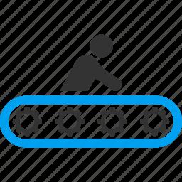 carry, conveyor, elevator, escalator, passenger transportation, transit, transport icon