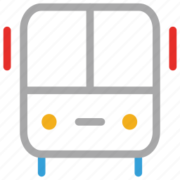 bus, coach, transport, vehicle icon