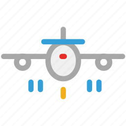 air flight, airbus, airliner, airplane icon
