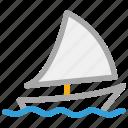 yacht, boat, sail, ship