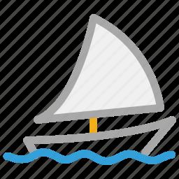 boat, sail, ship, yacht icon