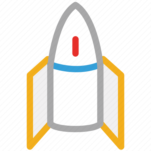 rocket, space, spaceship, transport icon