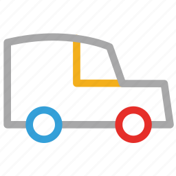 jeep, transport, travel, vehicle icon