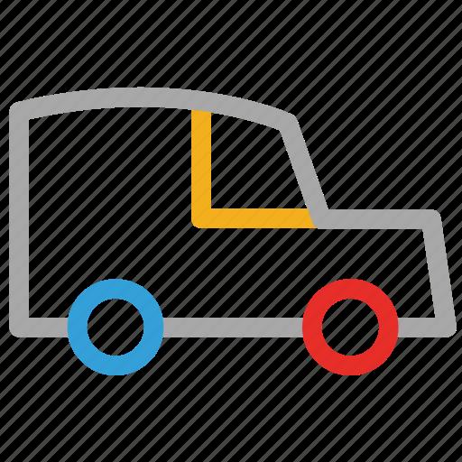 jeep, transport, travel, vehicle icon
