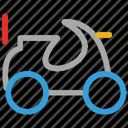 camo quad, quad, quad bike, vehicle icon