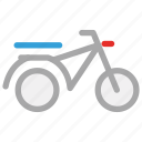 bike, motorbike, motorcycle, scooter icon