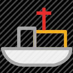 boat, ship, transport, travel icon