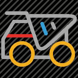 cement mixer truck, concrete mixer, concrete truck, truck icon