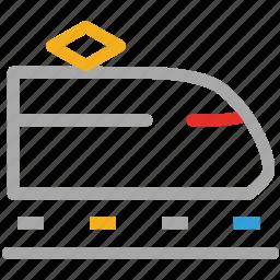 convoy, metro, tram, transport icon
