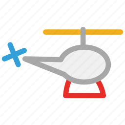 chopper, emergency, helicopter, transport icon